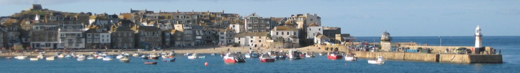 Cornwall in books - books set in Cornwall including novels, guides, maps